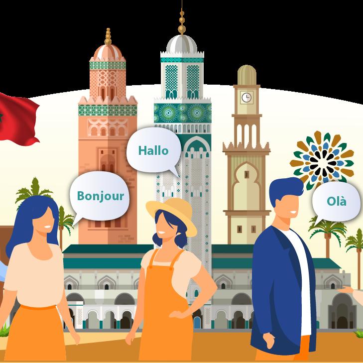 Etrangers au Maroc